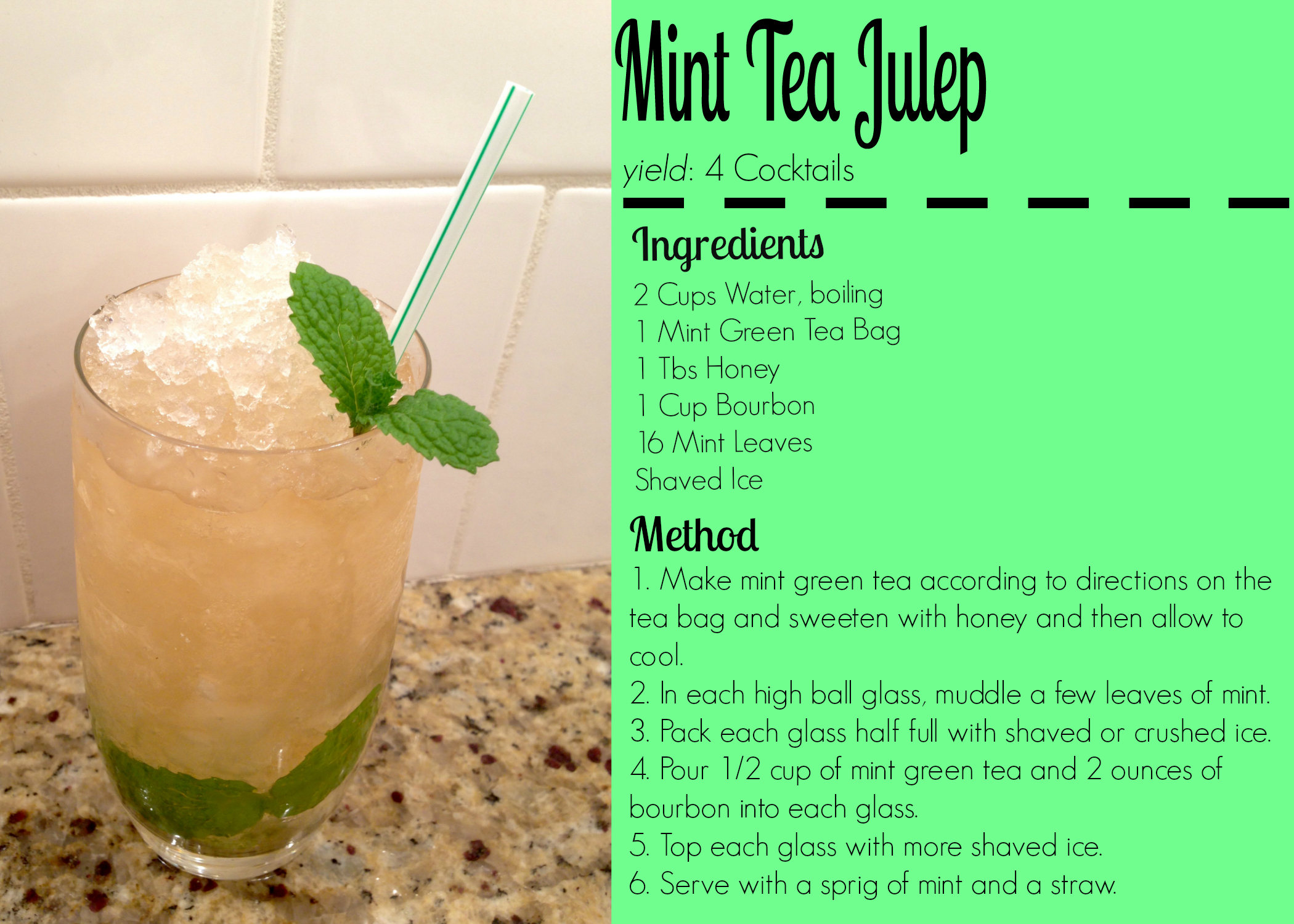 Is Good To Drink A Lot Of Mint Tea