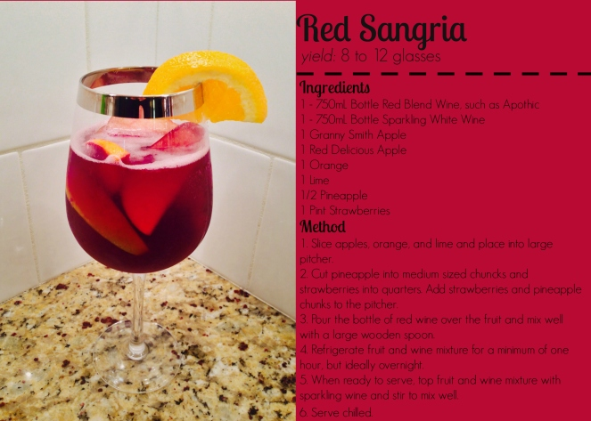 Red Wine Sangria 2