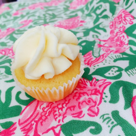 Lemoncello Tiramisu Cupcake