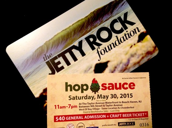 Hop Sauce Ticket