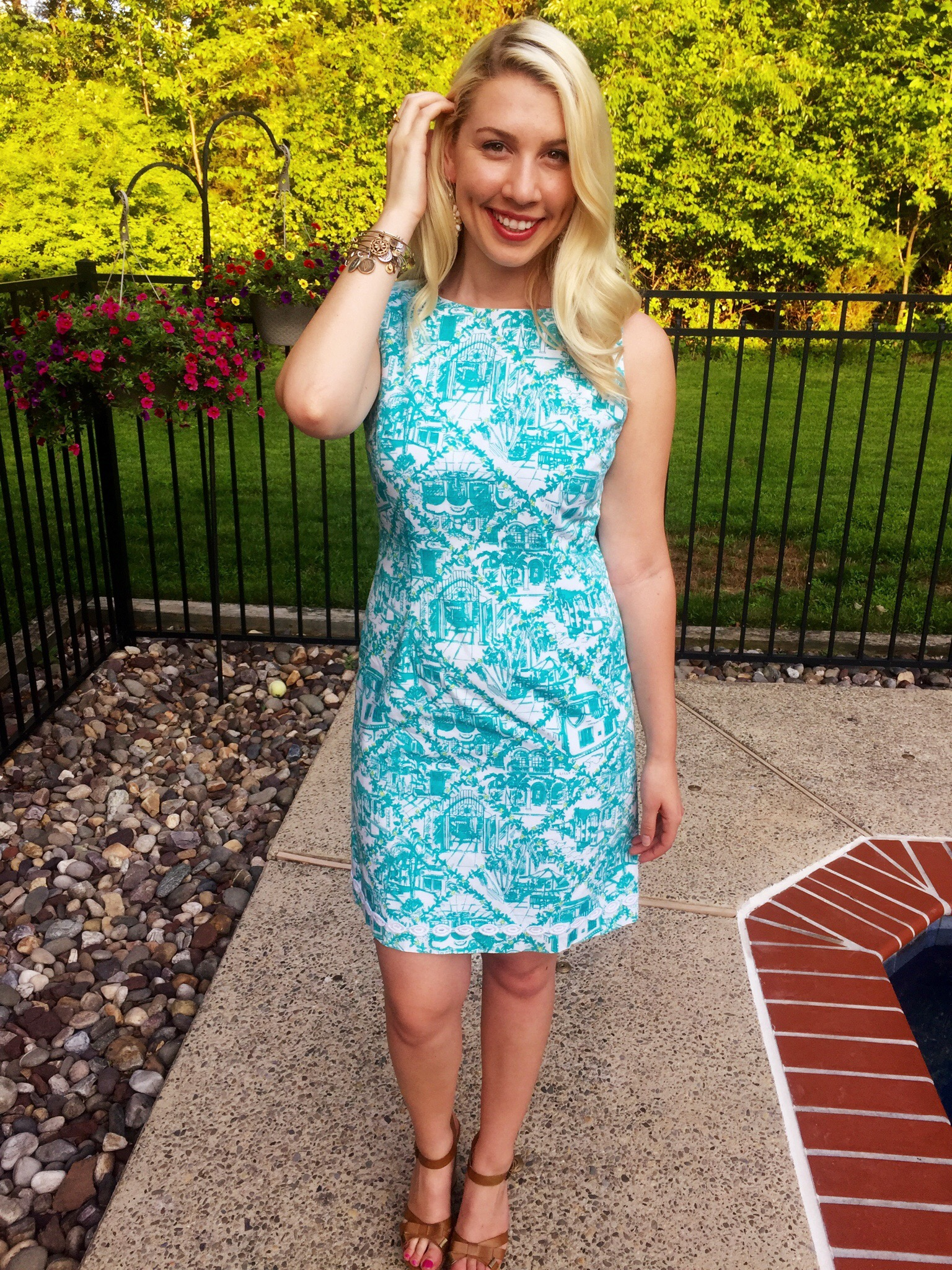 Thrift Store Find: Lilly Pulitzer Shift Dress – The Daily Soirée
