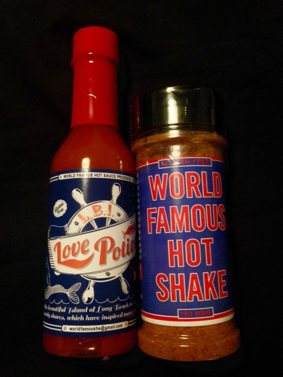 World Famous Hot Sauce's LBI Love Potion & Hot Shake