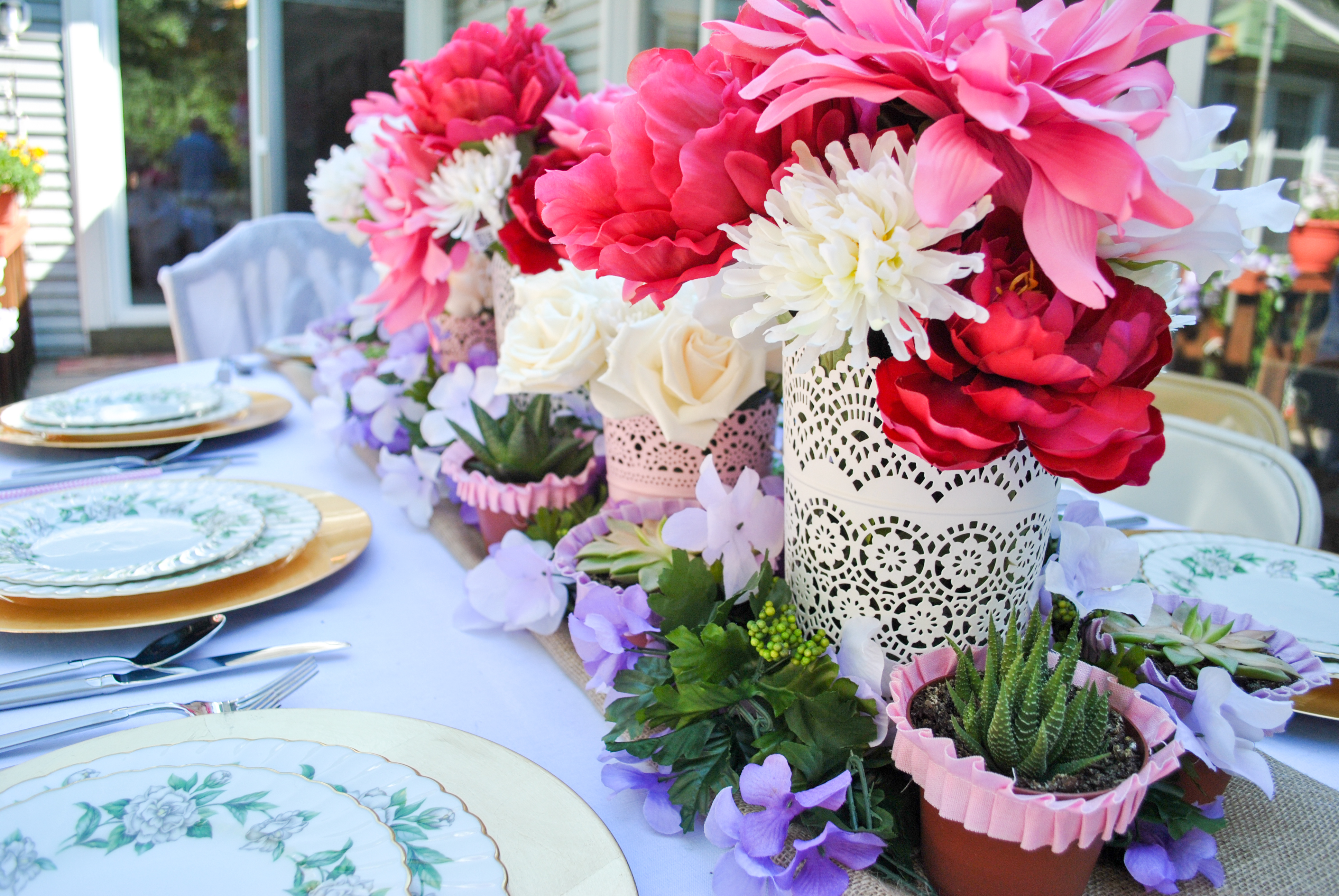 A Garden Party Bridal Shower The Daily Soire