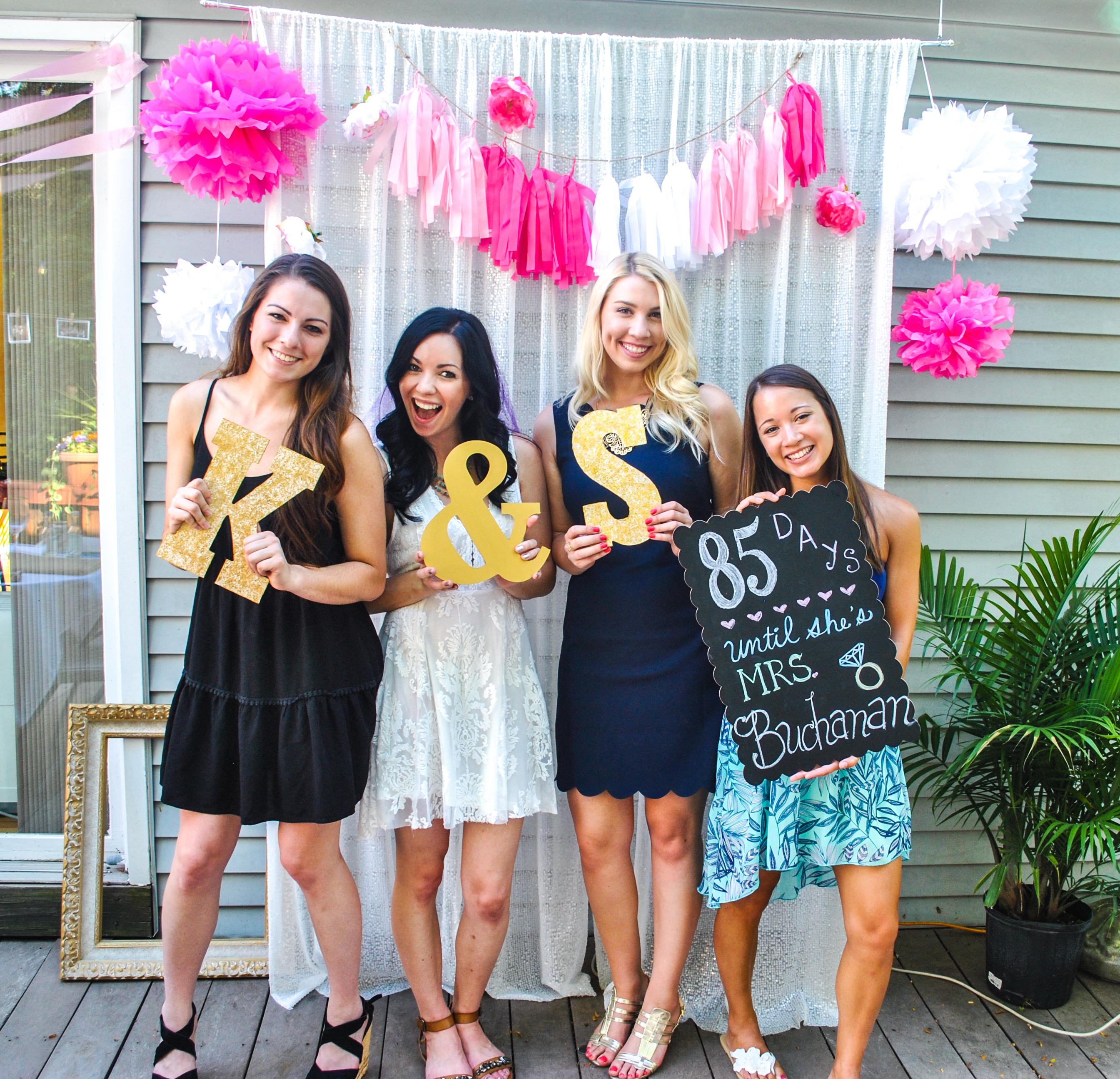 A Garden Party Bridal Shower The Daily Soirée