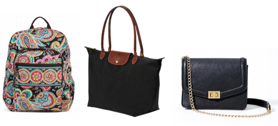 College Girl Must Haves Bag