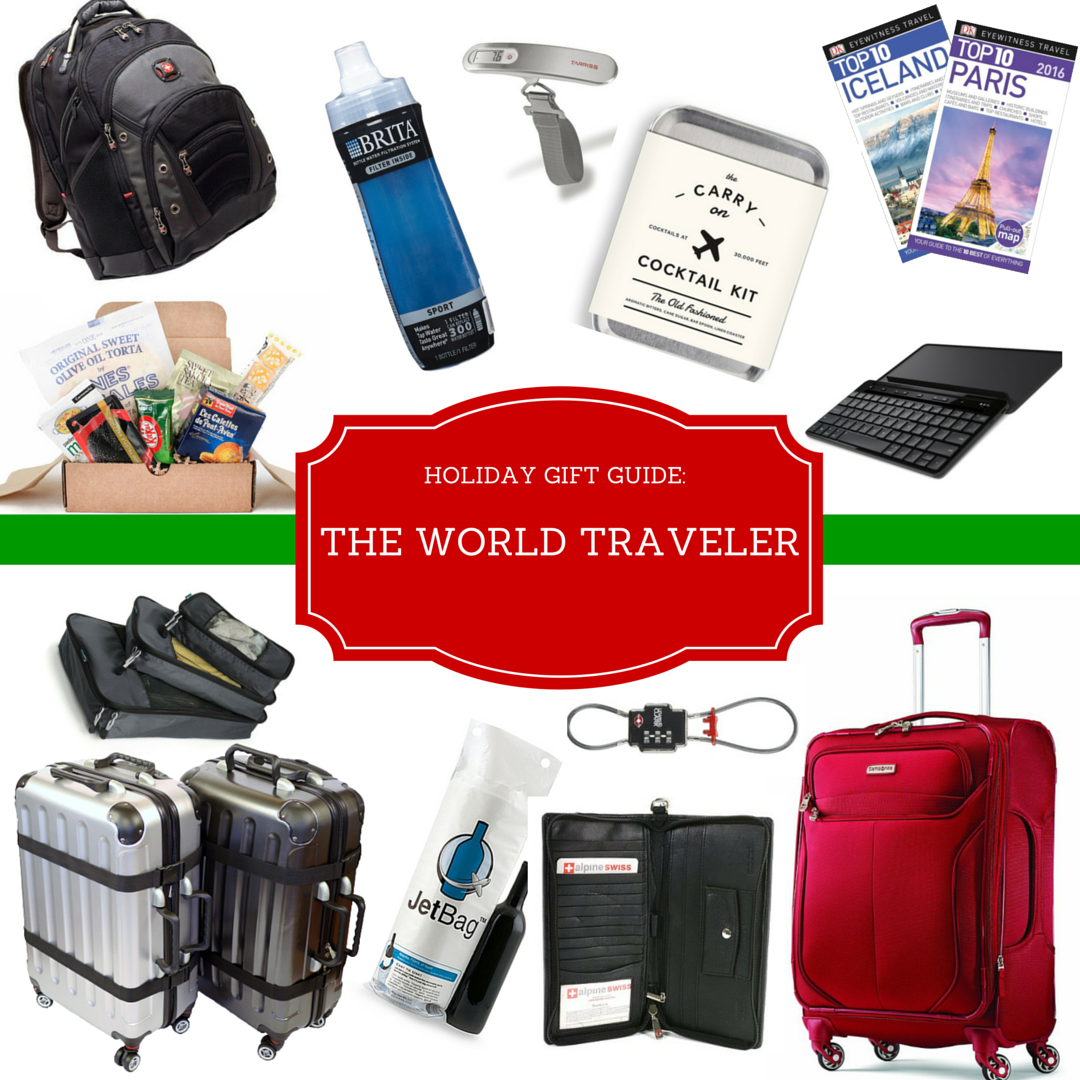 Holiday gift guide the world traveler the daily soir e for Good gifts for a traveler