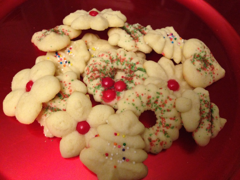 German Christmas Cookies Spritz The Daily Soir 233 E